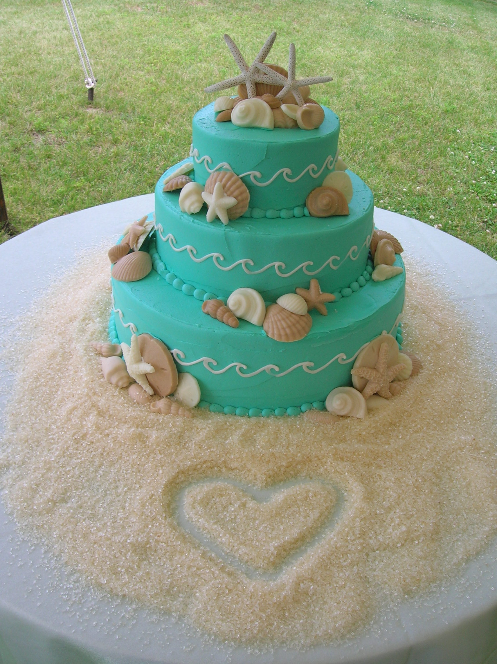 Wave Cake on Pinterest