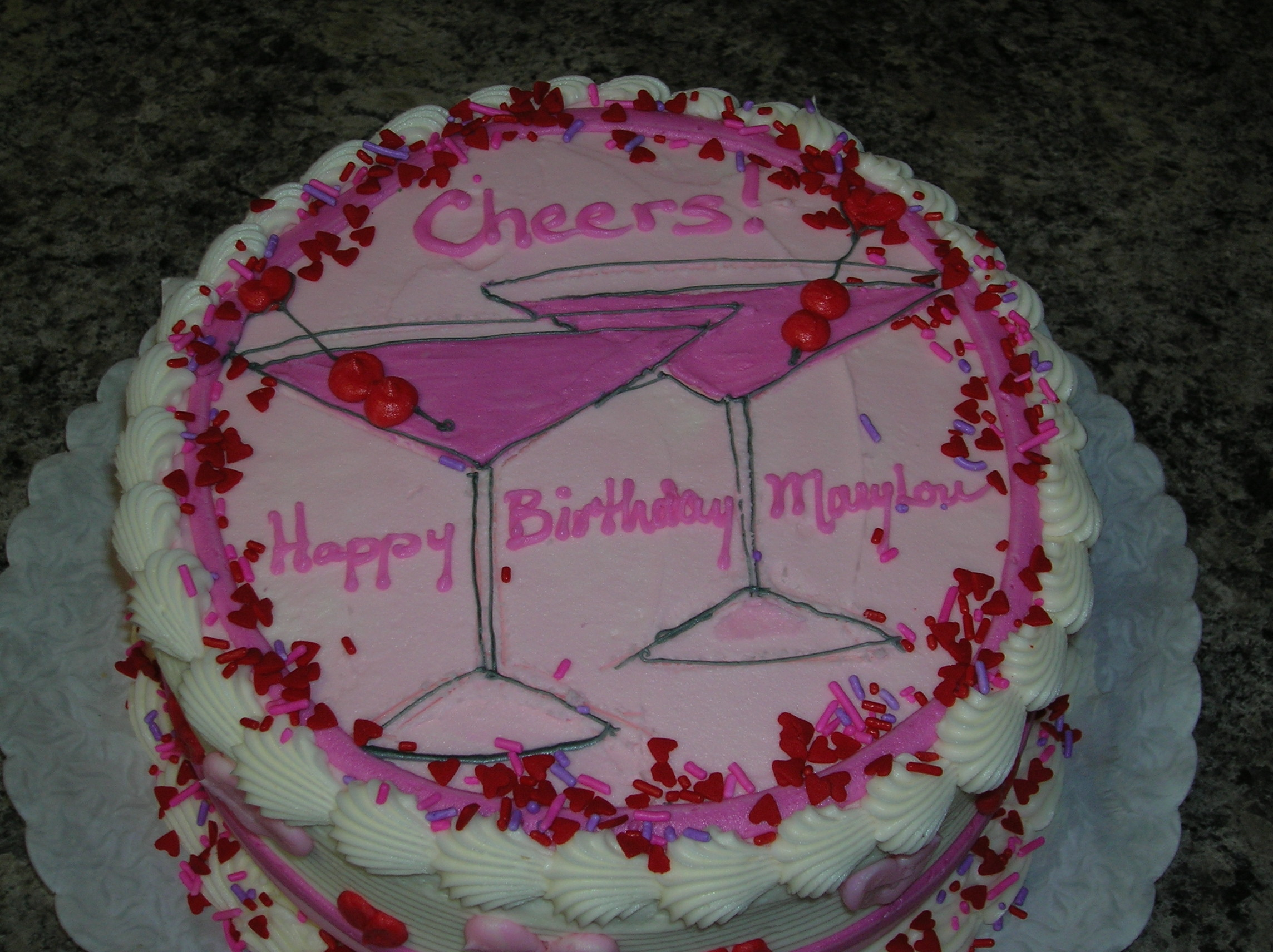 Birthday Party Cakes For Adults