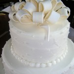 4 wedding fondant bow detail