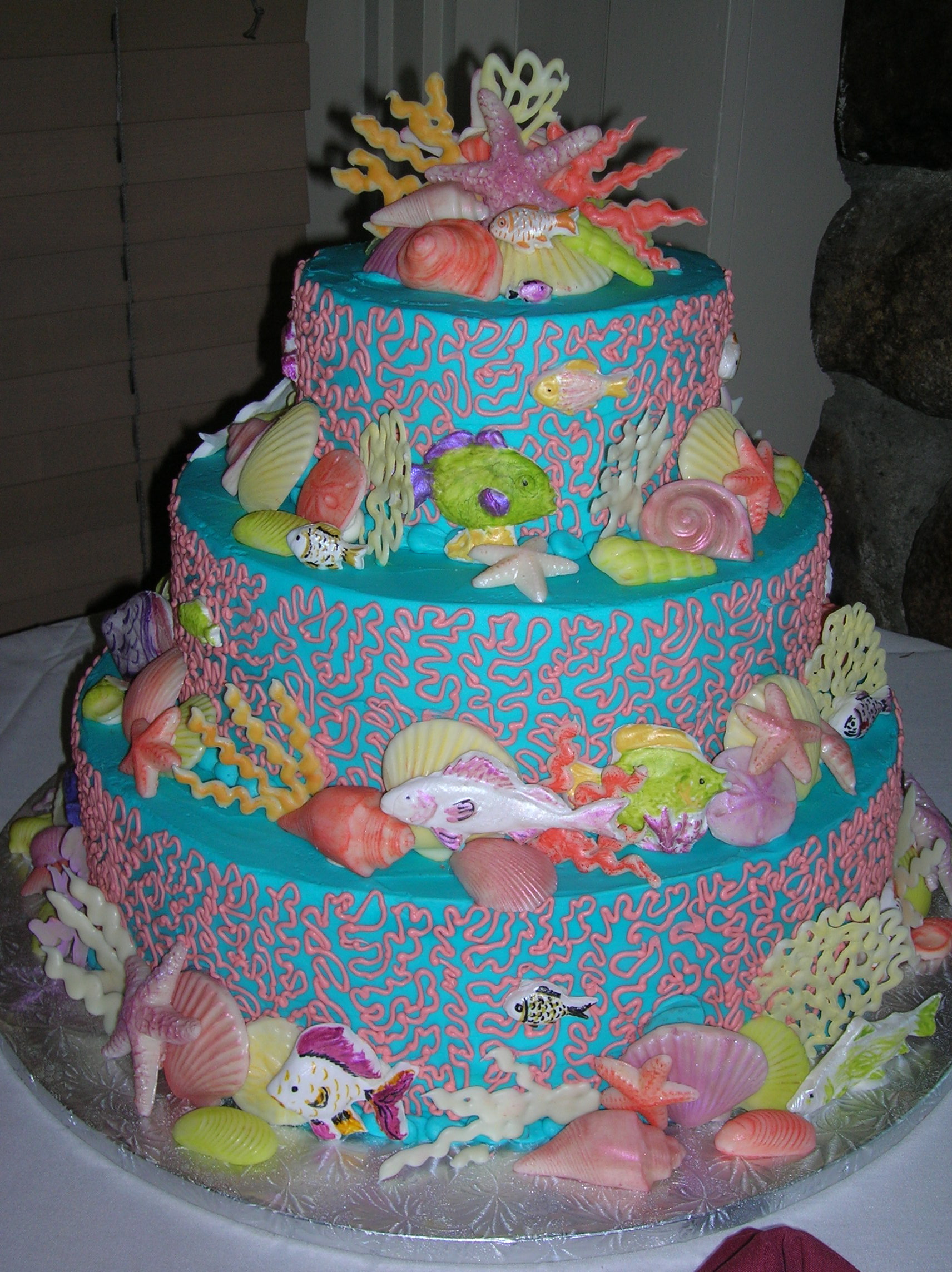 Beach Themed Birthday Cake 698 Pictures to pin on Pinterest
