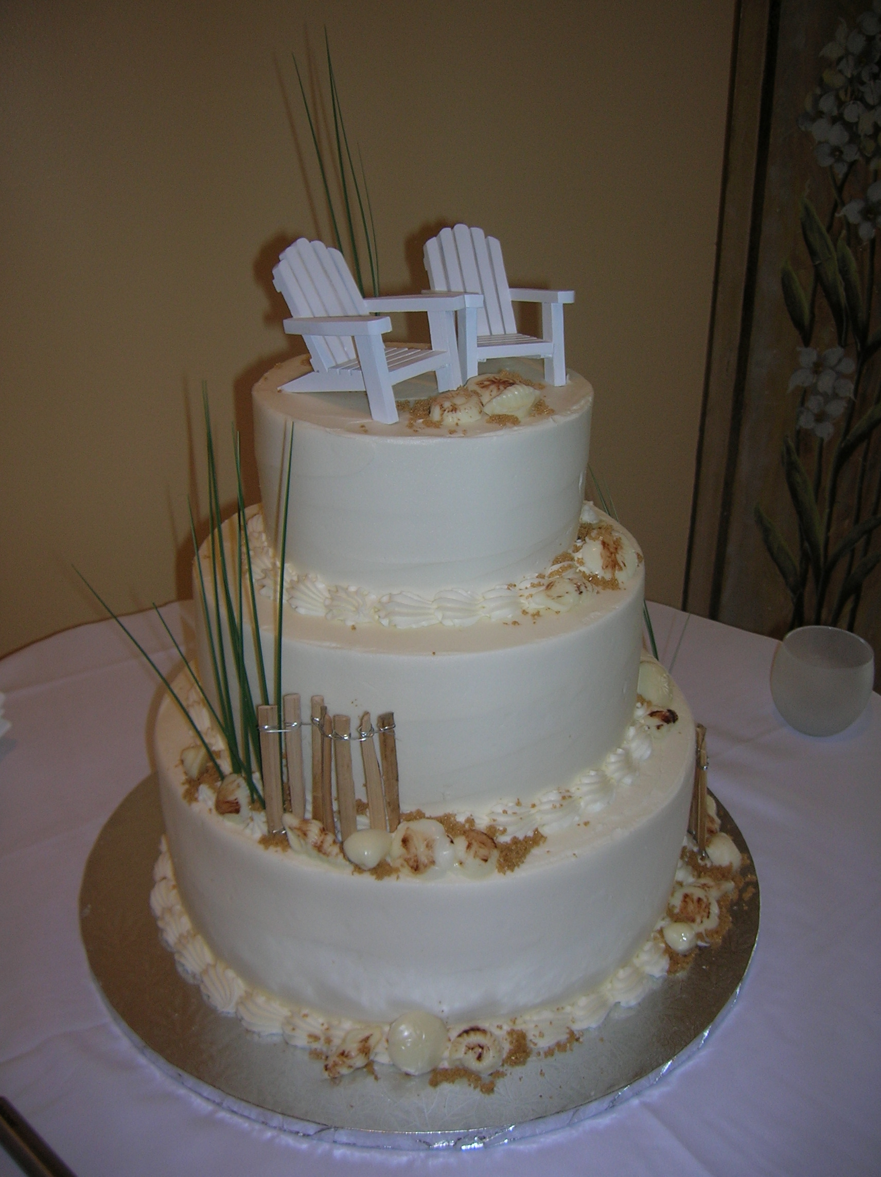wedding cake pictures beach theme s sweetcakes and nautical cakes 23435