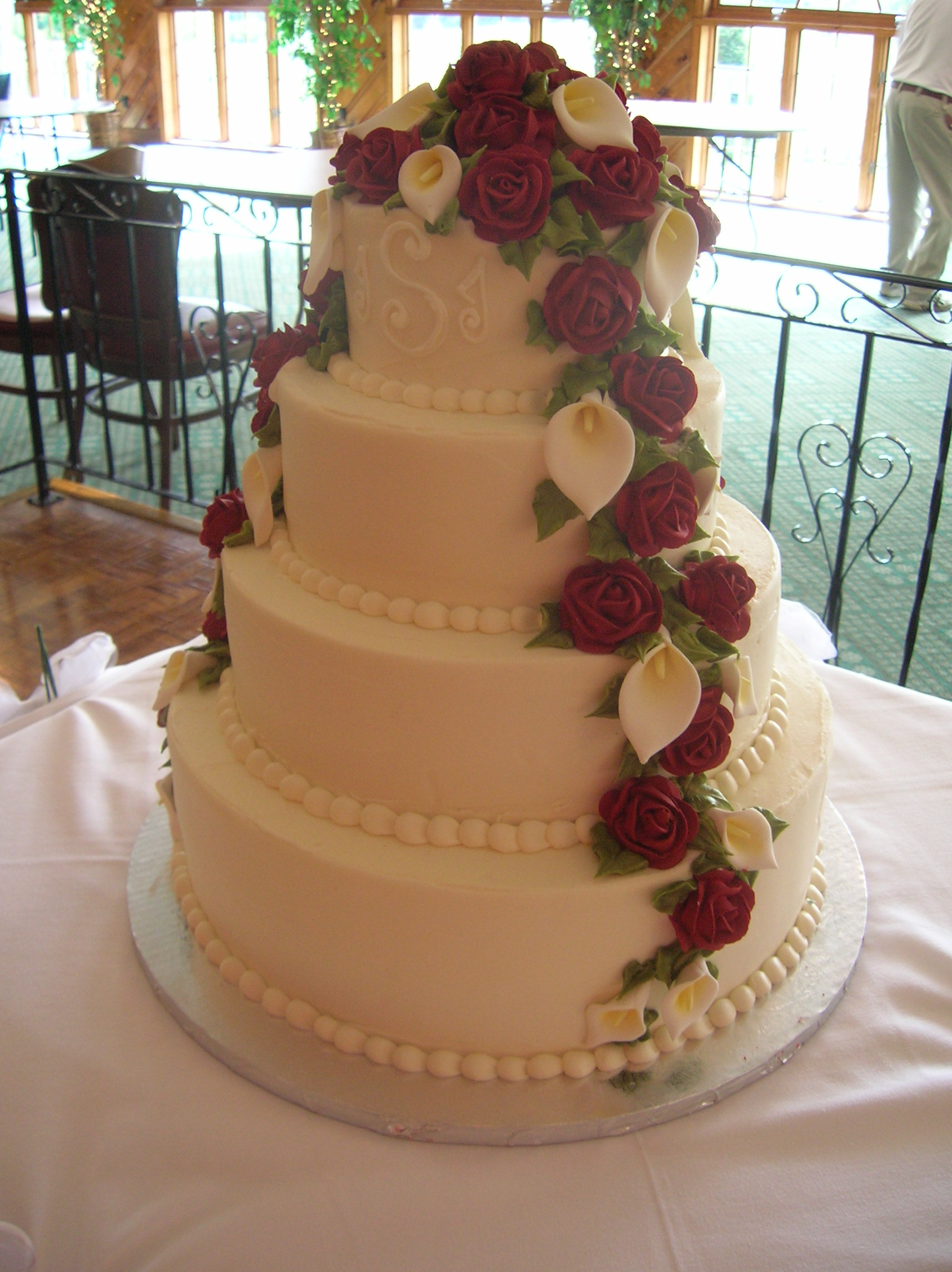 wedding cakes with roses and calla lilies wedding cakes with calla lilies and roses 5000 simple 26105